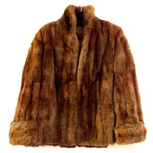 Jackets & Blazers - Authentic fur coat